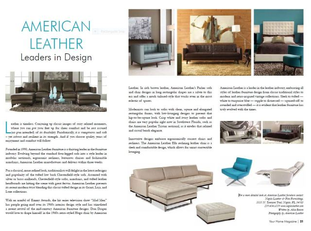 American Leather article YH MAG