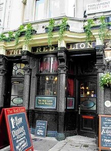 The magnificent Red Lion Pub in St. James. Photo Credit: Alisa Bowen